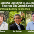GEC Endorsed Candidates on Environmental Issues in Glendale