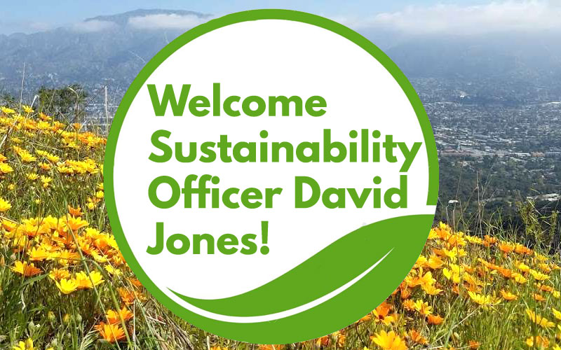 Welcoming our new Sustainability Officer David Jones!