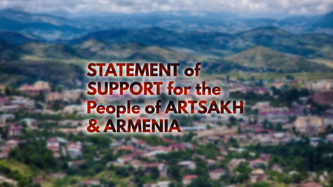 Statement of Support for the People of Artsakh and Armenia