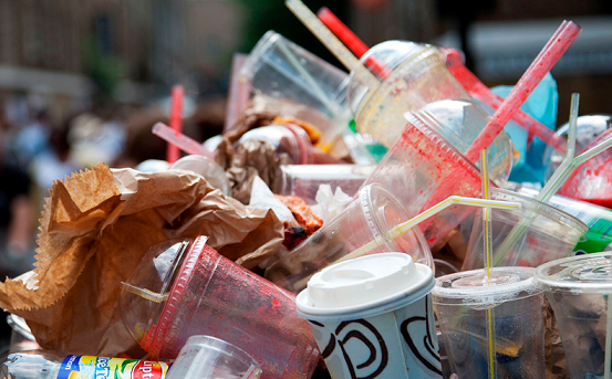 GEC Comment Letter in Support of Polystyrene & Single Use Plastic Ban for City Facilities/Events