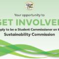 Sustainability Commission Seeking STUDENTS!